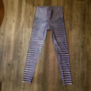 NEW NIYAMA SOL GRANITE STRIPE BAREFOOT LEGGING